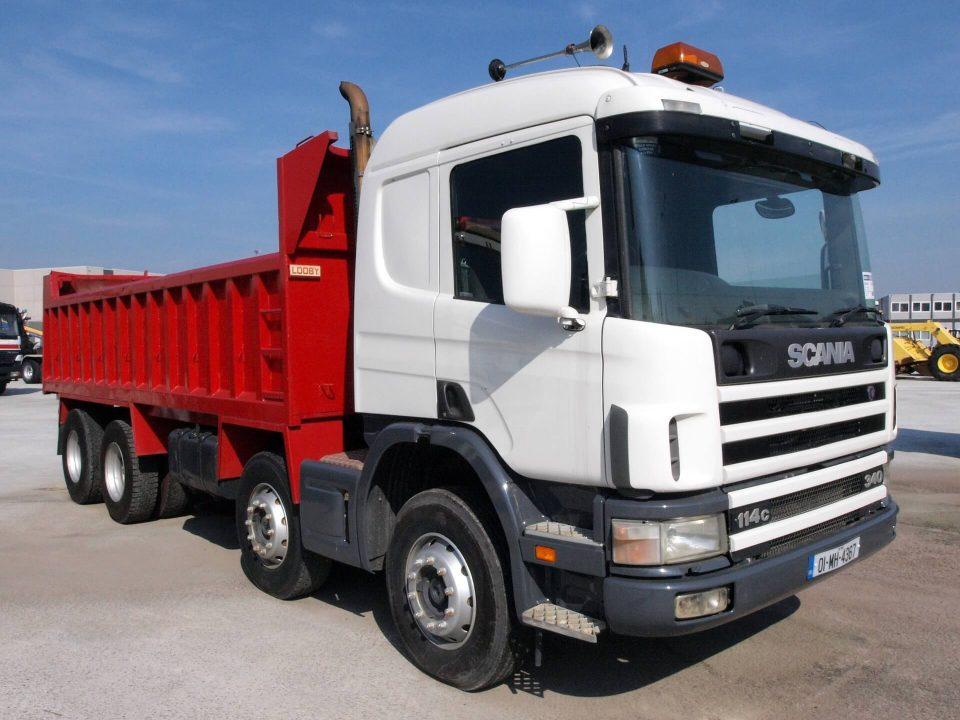 kierowca ciężarówki HGV