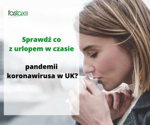 urlop a koronawirus